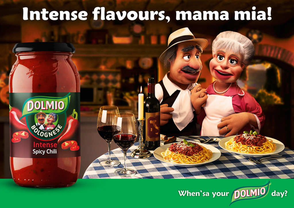 West London Food Photographer Michael Michaels photography for Dolmio advertising