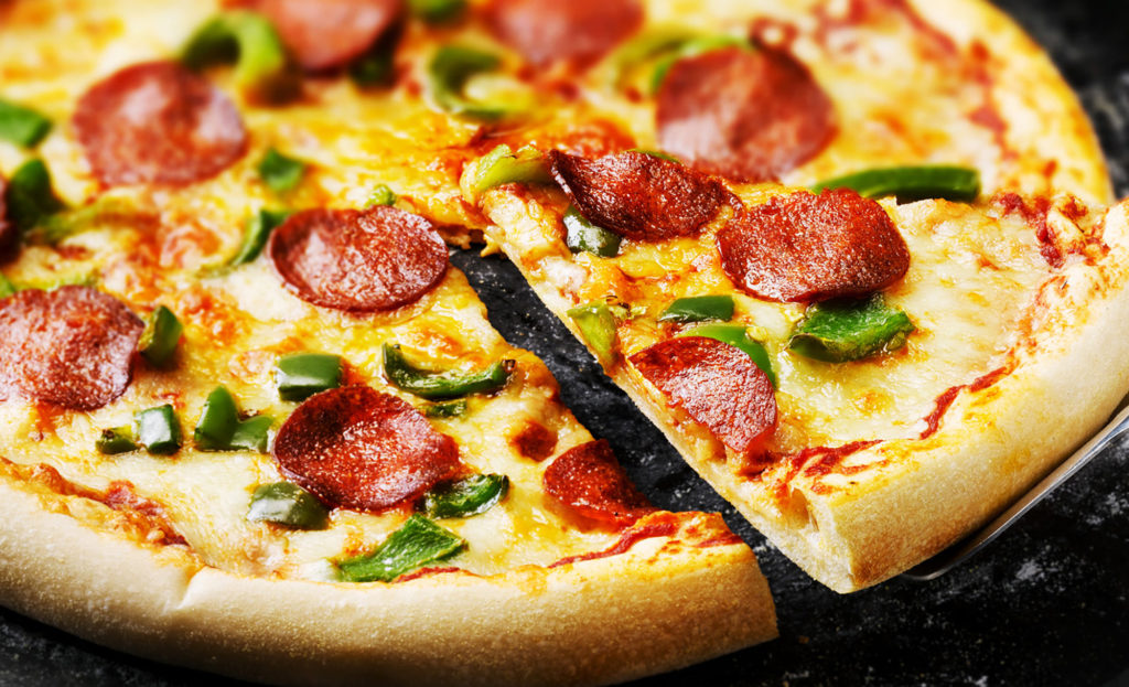 Pepperoni Pizza by London based food photographer Michael Michaels