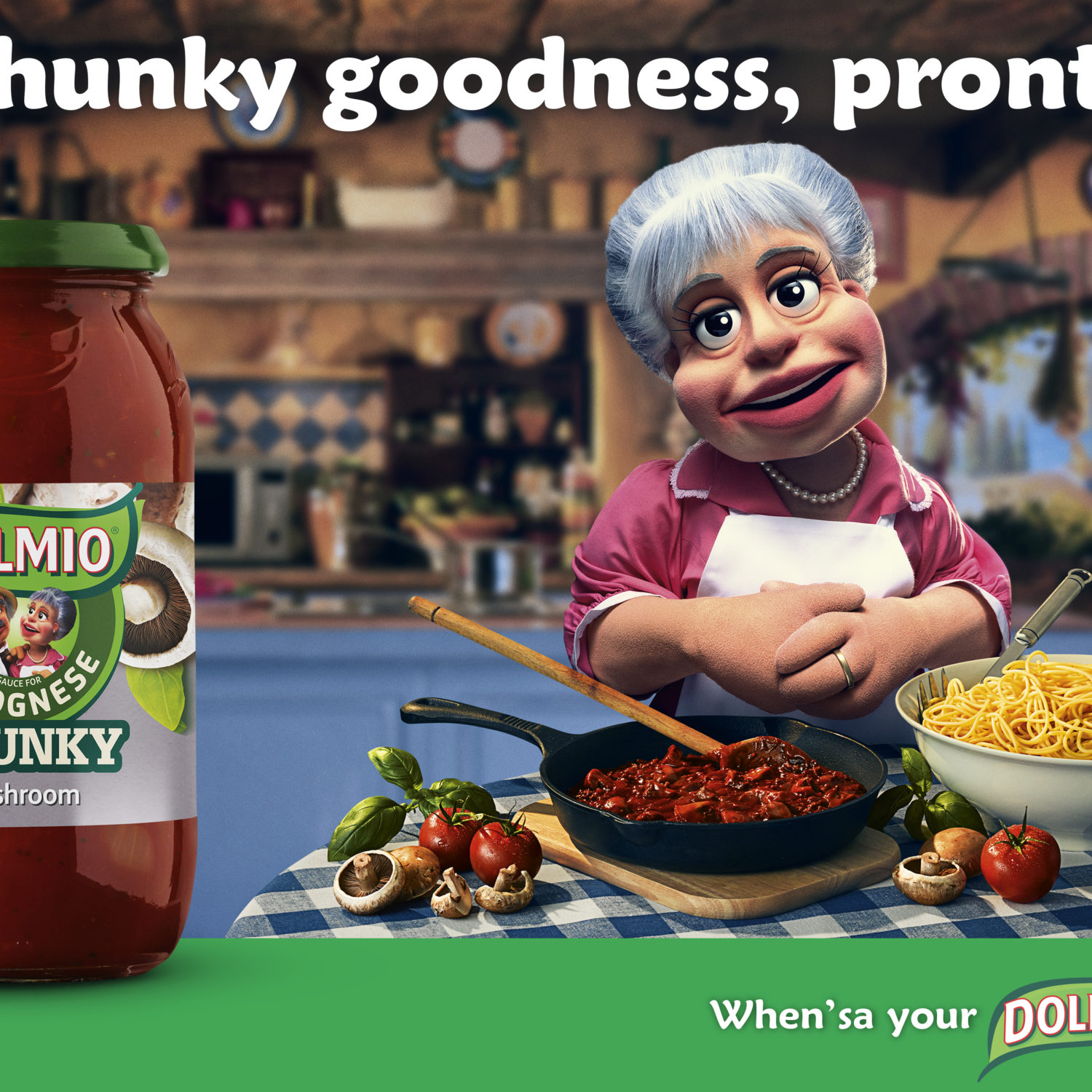 Food_Photographer_London Dolmio Chunky Tomato Sauce