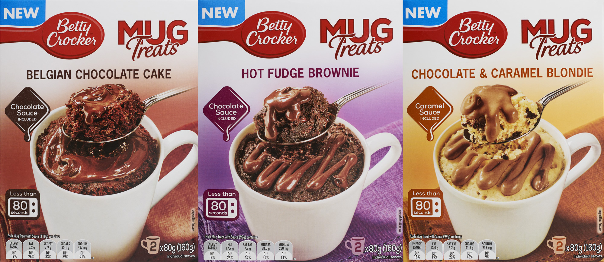 London food photographer -Mug cakes for Betty Crocker