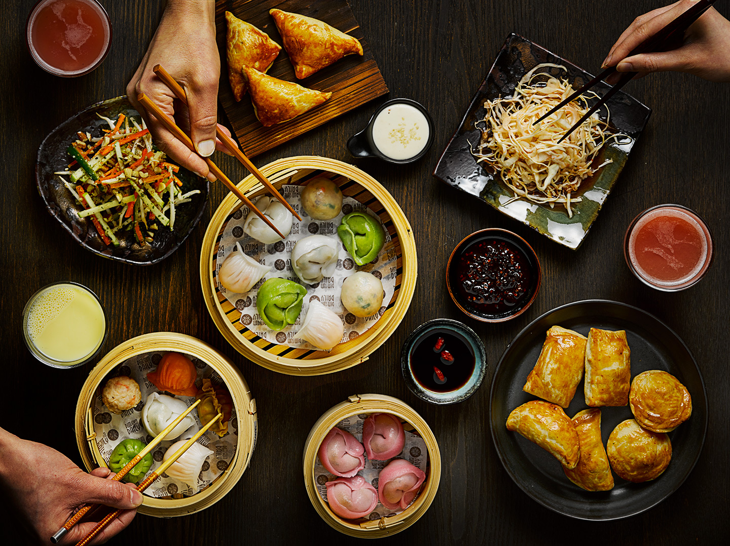 Eating Dim Sum Food photography by Food Photographer London Michael Michaels