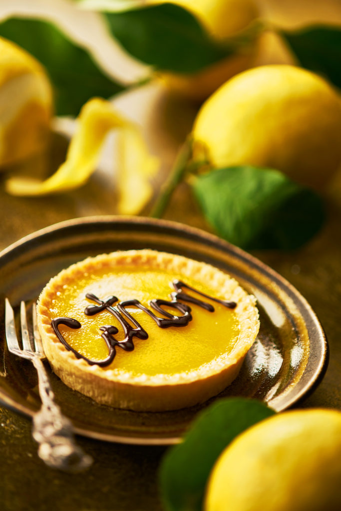 Photo of Tarte au Citron by London food photographer Michael Michaels