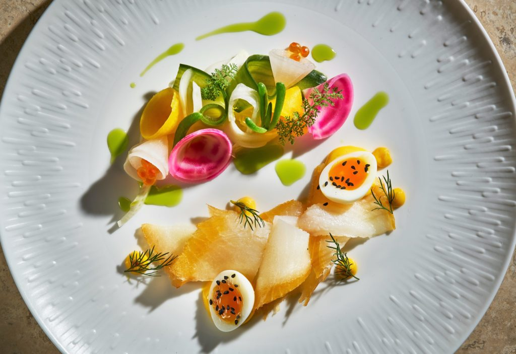 Smoked Halibut by London Food Photographer Michael Michaels